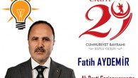 Ak Parti Gaziosmanpaşa İlçe Başkanı Fatih Aydemir
