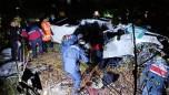 Kontrolden çıkan kamyonet uçurumdan yuvarlandı: 3 ölü, 1 yaralı