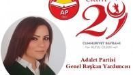 Adalet Partisi İstanbul İl Başkanı Ercan Canpolat, Adalet Partisi Genel Başkan Yardımcısı Hazal Canpolat,
