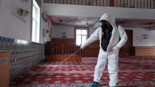 İbadethanelerde temizlik seferberliği sürüyor