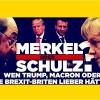 DIE WAHL AUS SICHT DER USA Warum Trump mit Merkel und Schulz nur verlieren kann