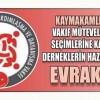 Gaziosmanpaşa'da Mütevelli Heyeti Seçimleri Yapılacak.