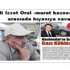 Ali Izzet Oral ile murat haznedar arasında kıyasıya savaş