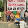 CHP'li belediyenin işten attığı işçi açlık grevini sürdürüyor