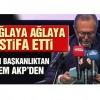Balıkesir Büyükşehir Belediye Başkanı Edip Uğur ağlaya ağlaya istifa etti