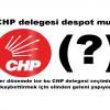 CHP il ve ilçe delegesi despot mu?