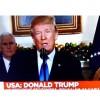 Trump açıklamasında Kudüs'ü İsrail'in Başkenti olarak kabul ettiğini açıkladı.