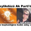 Beylikdüzü Ak Parti'de ilçe başkanlığına kadın aday cıktı