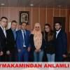 Cide Kaymakamı Fatih Demir'den Gençlere Destek