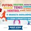 Eyüp Belediyesi Kış Spor Okulları kayıtları başladı