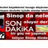 Sinop da neler oluyor derin bir güç ne yapmak istiyor Sinop ilinde