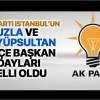 AK Parti İstanbul'un Tuzla ve Eyüpsultan İlçe Başkan Adayları belli oldu
