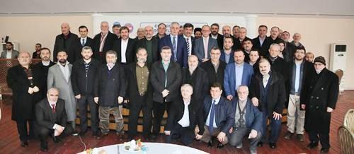 Başkan Aydın, Din Görevlileriyle Buluştu 2017