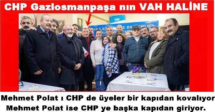 CHP Gaziosmanpaşa nın VAH HALİNE