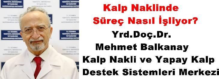 Yrd.Doç.Dr. Mehmet Balkanay