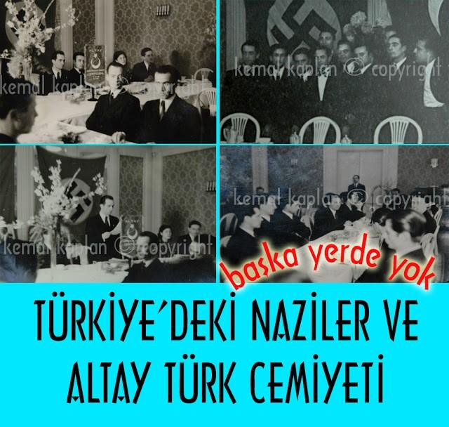 TÜRKİYE'DEKİ NAZİLER VE ALTAY TÜRK CEMİYETİ