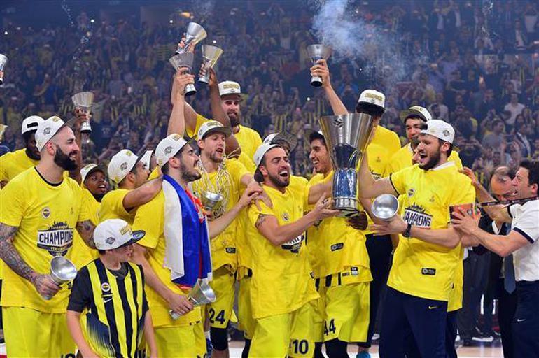 Fenerbahçe Eurolig şampiyonu oldu,